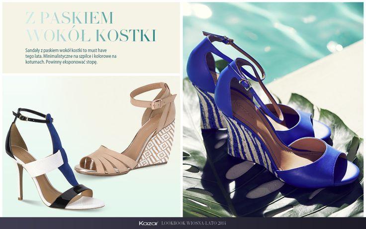 #kazar #trendy #new #look #summer #sprig #wiosna #lato #moda #fashion #styl #buty #shoes #szpilki #torba #bag #pasek