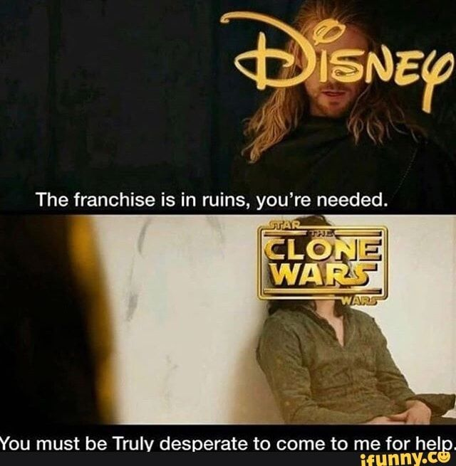 You Must Be Trulv Desperate To Come To Me For Help Ifunny Star Wars Jokes Funny Star Wars Memes Star Wars Humor