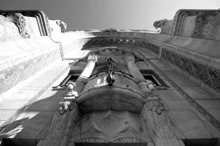 Facade of Four Seasons Hotel Gresham Palace.