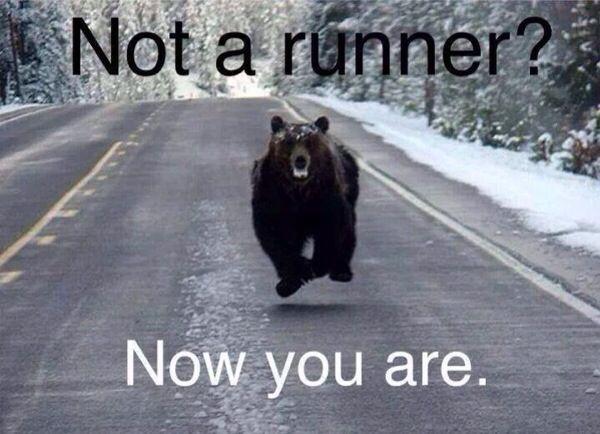 Be a runner!