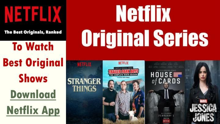Netflix has a major goal for the future of its original content. After the news that Netflix will be increasing its original content to 50 per cent over the next few years, here is a selection of the greatest creations to come out of the company.