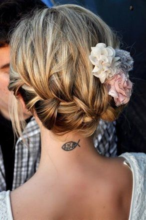 Love this hair: French Braids, Hair Ideas, Bridesmaid Hair, Fish Tattoo, Hair Pieces, Cute Hair, Gorgeous Hair, Hair Style, Pretty Hair
