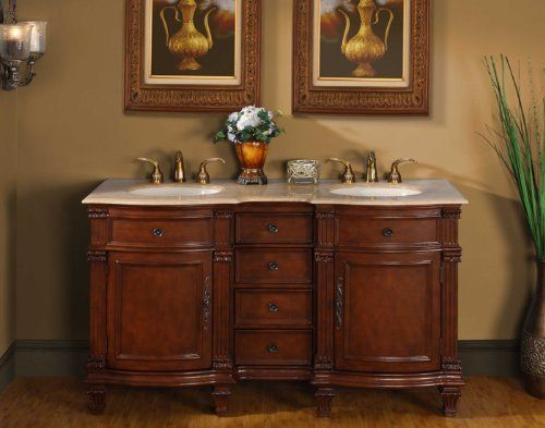 Best 25 travertine countertops ideas on pinterest - Double sink vanity countertop ideas ...