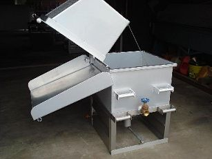 Single Crawfish Cooker - The Crawfish Company - Boils (2) Sacks of Crawfish or steams (3)