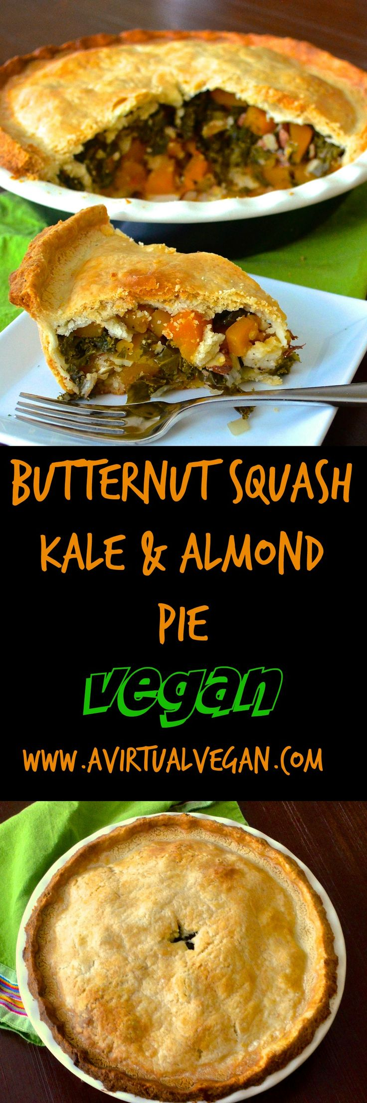 74 best vegan fall recipes images on pinterest vegan recipes flaky delicious pastry filled with sweet melt in your mouth butternut squash deep green earthy kale crunchy almonds only 6 ingredients and the forumfinder Choice Image