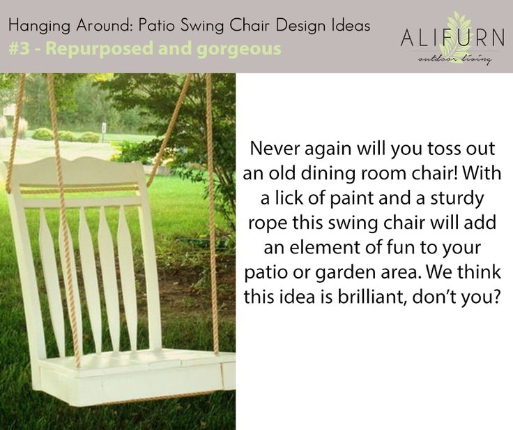 Have old dining chairs that have no purpose? Now they do…#OutdoorFurniture #PimpMyPatio #FabFabrics