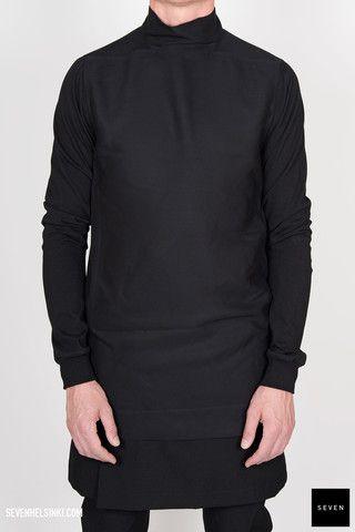 Rick Owens T-SHIRT TABARD - black 425 € | Seven Shop