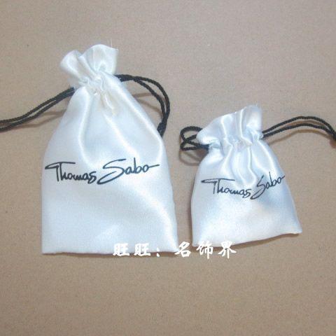 Томас томас белый шелк Ювелирные сумки упаковка мешок оптовая большой