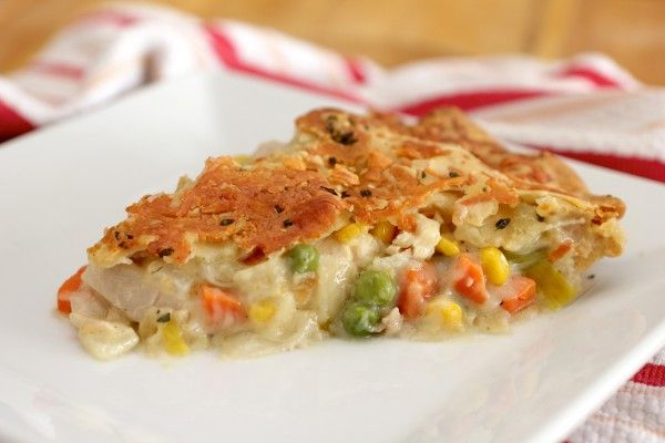 Post image for Chicken Pot Pie with Herb and Cheddar Crust – A Step-By-Step Recipe