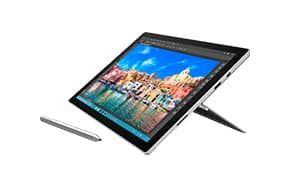 Surface Pro 4 biedt de veelzijdigheid van een laptop en tablet, krachtig genoeg om ook zware taken uit te voeren, en tegelijkertijd niet zwaarder dan 786 gram.