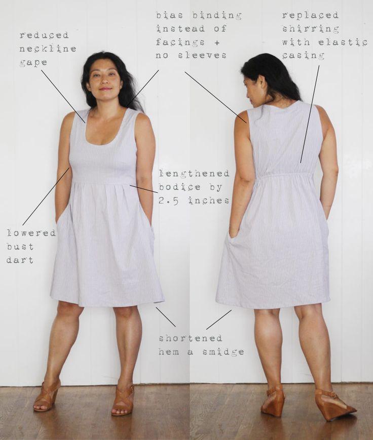 Alterations to Made by Rae's Washi dress | Sanae Ishida