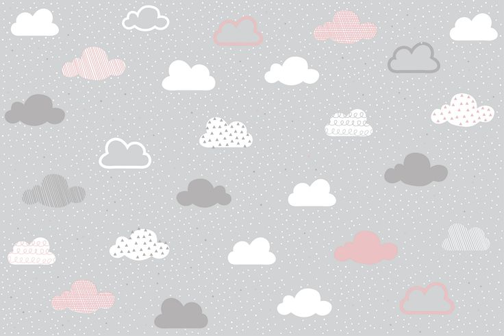 Are you looking to create a charming, stylish space for your child in their nursery or bedroom? Then you needn't look any further than our Pink and Grey Clouds Pattern Wall Mural. This adorable design features a pattern of little clouds in grey, white and pink on spotty soft grey background. The cosy feeling given off... Read more