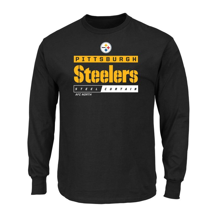 T-Shirt Pittsburgh Steelers Team Color Xxl, Men's, Multicolored