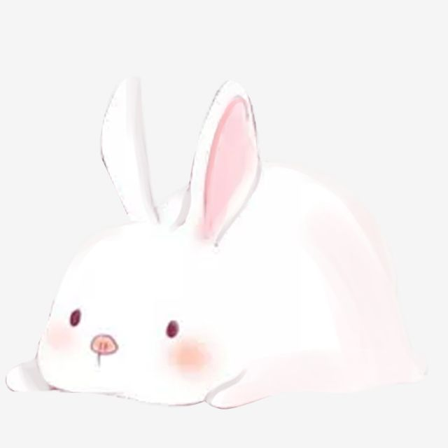 Cute Rabbit White Rabbit Pink Bunny Rabbit Chang E Mid Autumn Festival Cute Rabbit Png Transparent Clipart Image And Psd File For Free Download