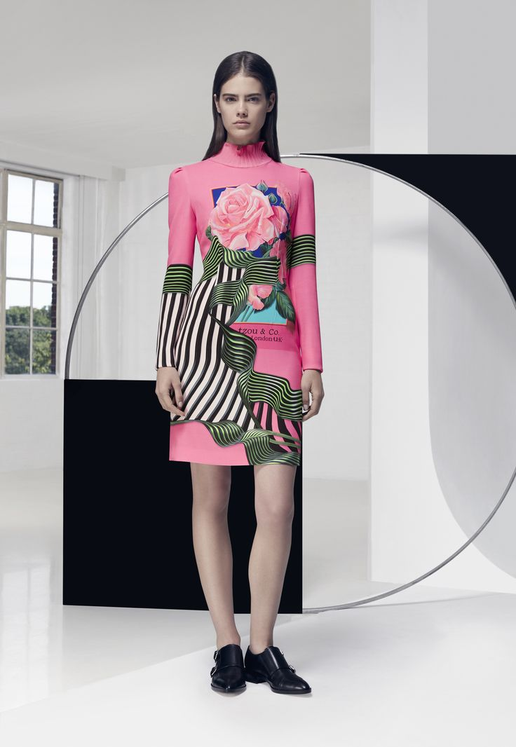 Look 11. Tails Dress
