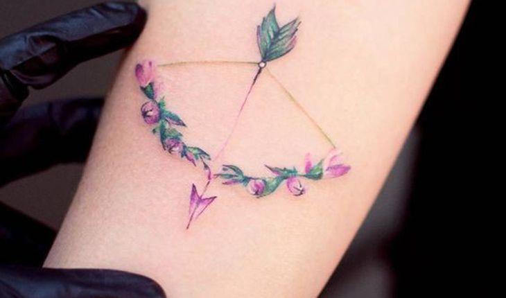 Resultado de imagem para tatuagem de arco e flecha