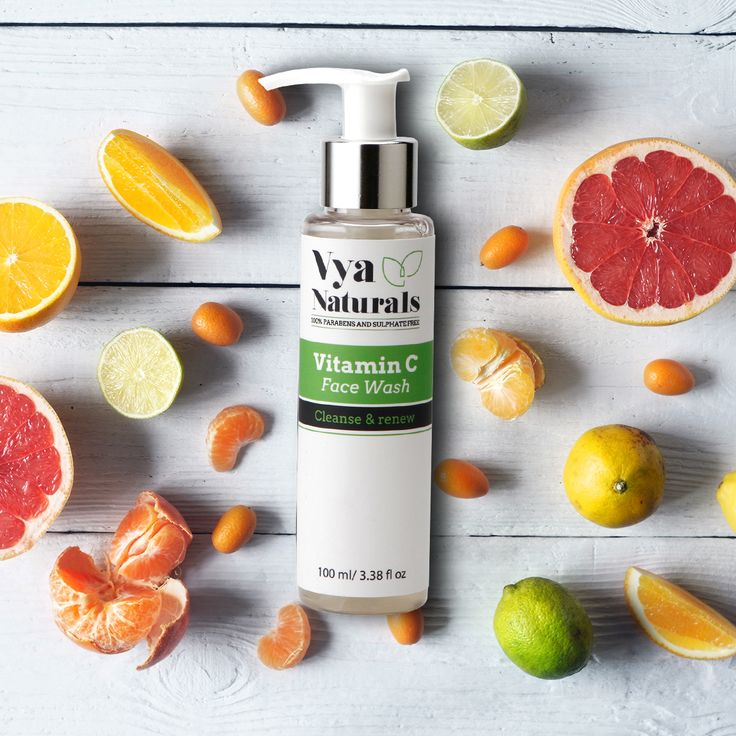 Give your skin a proven cleansing treatment with Vya Naturals Vitamin c face wash  Shop Now: http://bit.ly/2qS2io4