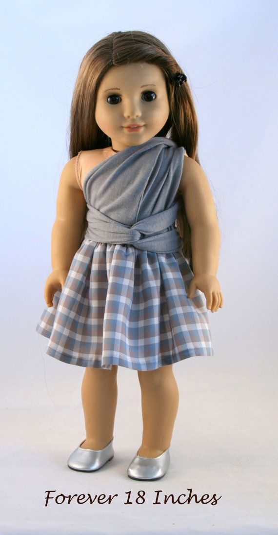 18 Doll Clothes fits American Girl  Infinity by Forever18Inches.  Now available through Etsy!  Infinity Dress pattern also available through PixieFaire.com