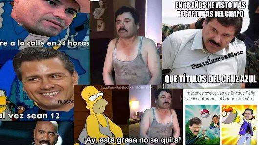 Los memes de la captura del Chapo