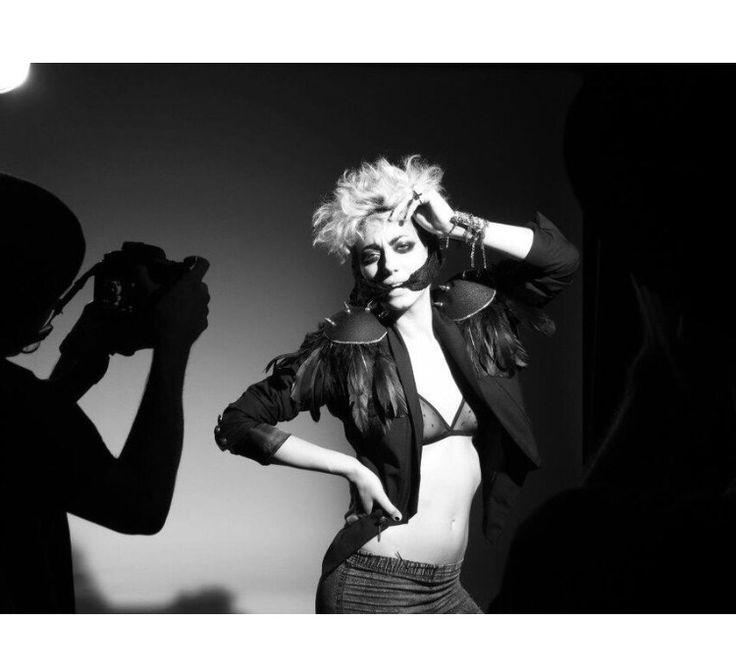 NY shooting Backstage  Hair & makeup #inubarreto