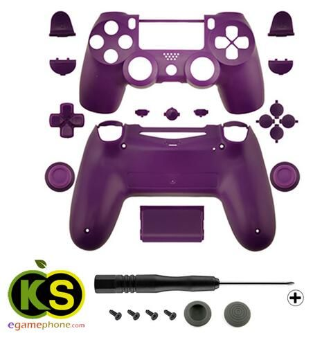 ps4 custom purple Replacement Full Housing Shell Case Part Kit for