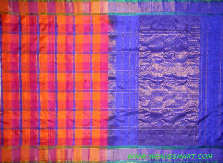 Gadwal  Silk Saree - GDW00338