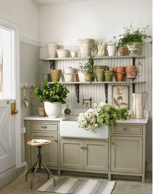 Potting Shed Via Country Living