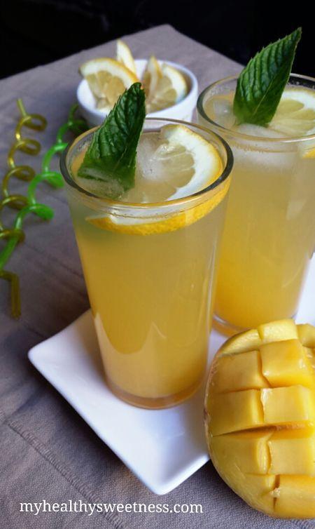 """Jus pétillant à la mangue - par """"My healthy sweetness"""""""