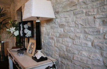 Parement de pierre murale id es pour la maison pinterest - Brique murale interieur ...