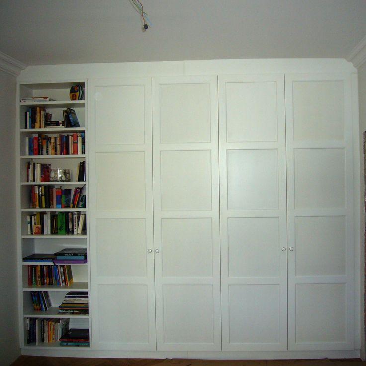 25 parasta ideaa pinterestiss schrankwand wei ikea schrankwand wandgarderobe wei ja. Black Bedroom Furniture Sets. Home Design Ideas