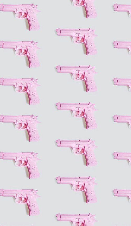 Картинки через We Heart It #guns #pink #wallpapers #backgrounds