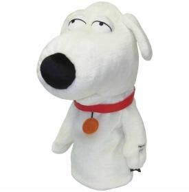 Family Guy - Talking Brian Golf Headcover - http://www.golfhq.com/talking-brian-golf-headcover.html
