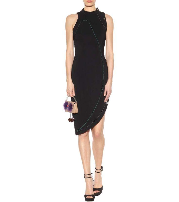 Versace - Abito in cady | mytheresa.com