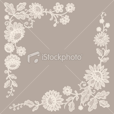 Lace Corners Royalty Free Stock Vector Art Illustration - $25