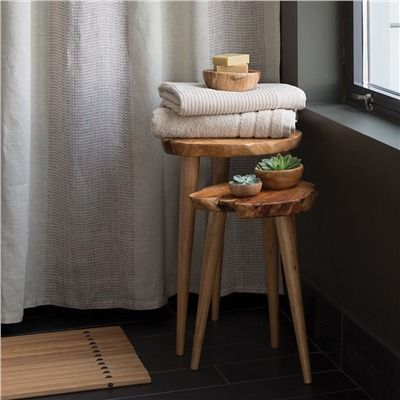 Root Wood Nesting Table Collection, Coffee Tables, Side Tables, Accent Tables and Console Tables   Bambeco