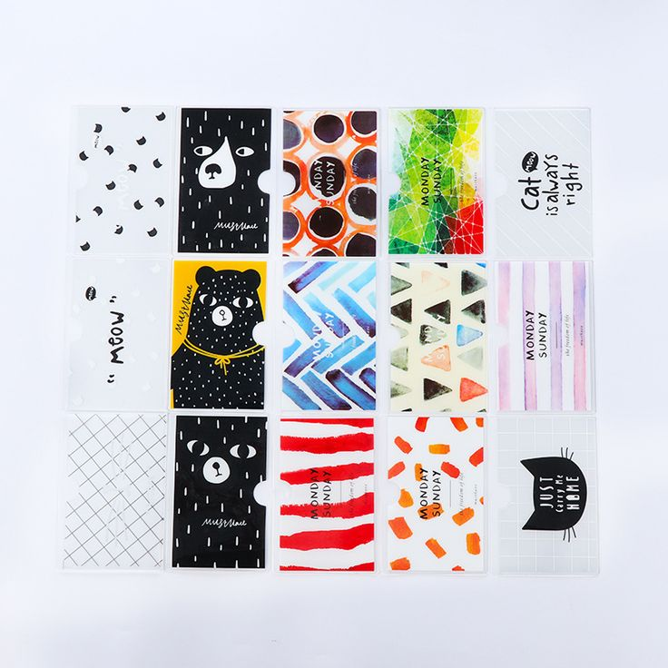 1Pcs New Brief Style Bear Transparent Double Layer PVC Card Cover Bus Bank Id Card Case Holder Gift E0013