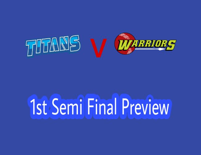 Titans vs Warriors 1st Semi Final will be played at SuperSport Park, Centurion. We Cover Preview, Probable Playing XI and Dream11 Prediction. ABD is Back.