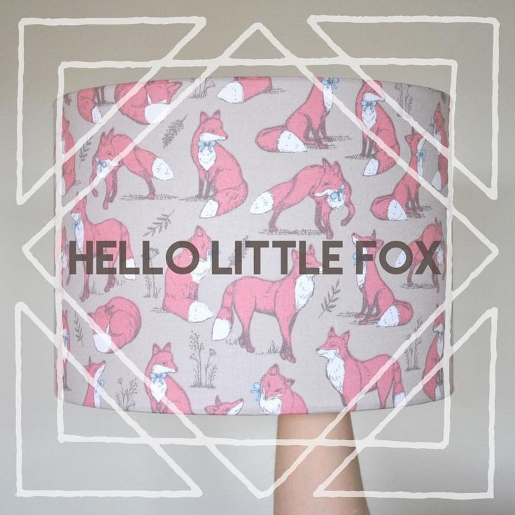 Love foxes? We do! These little chaps, complete with their little blue bows, look super cute on this ceiling shade . . . #rukulampshades #fox #christmasgift #present #forher #handmade #madeinuk #etsyseller #etsyshop #etsyuk #etsyfinds #johnlewisadvert #instalove #instacute #cute #instagood #instagram #instalike #christmas #present #gift