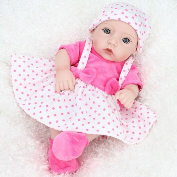 "Baby Doll For Girl Reborn Realistic 10"" - Reborn Dolls"