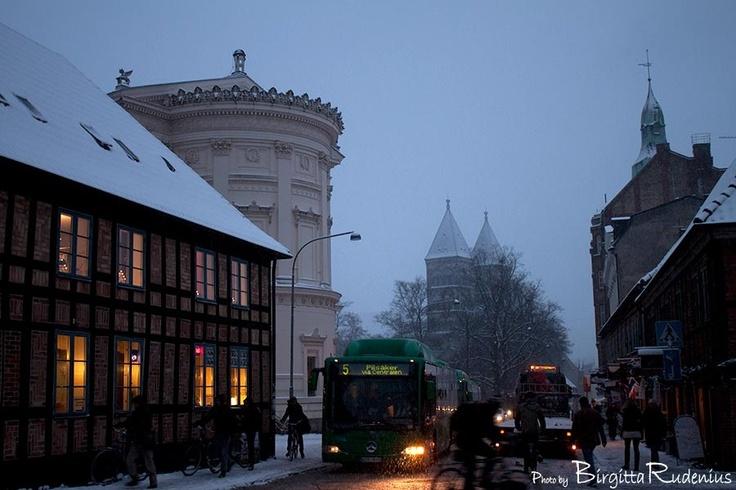Snow in Lund « LUND Sweden