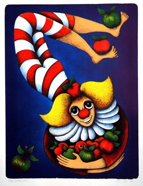Jablkový klaun http://www.galeriepodradnici.cz/dilo/Srncova_Ema/185.jpg
