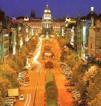 Wenceslas Square, Prague.  Visited last July -loved it!