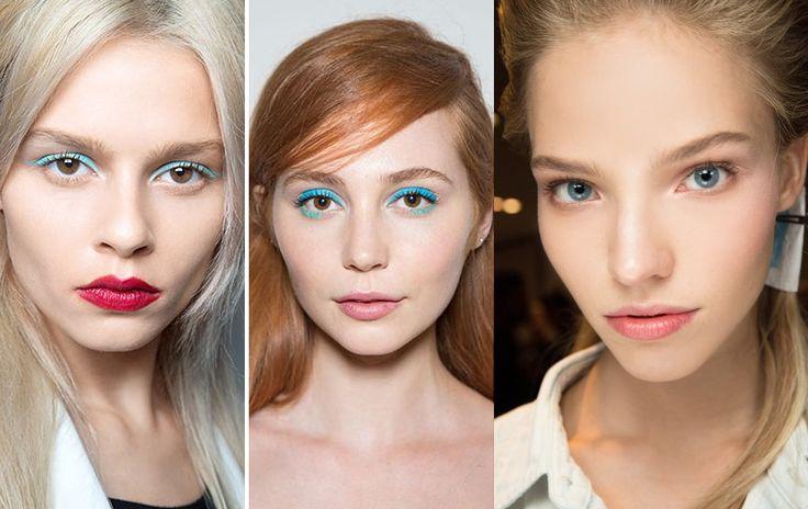 Макияж 2017, модные тенденции. Актуальные тенденции в макияже 2017. Модные тренды макияжа 2017.