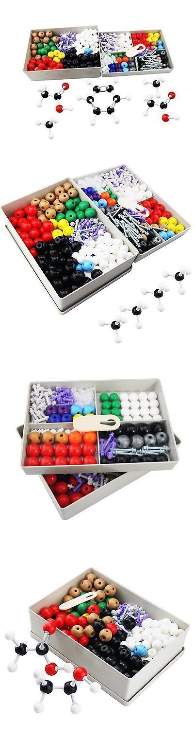 Microscopes and Chemistry 2568: Mererke Advanced Organic And Inorganic Chemistry 606-Piece Molecular Model Set -> BUY IT NOW ONLY: $153.75 on eBay!