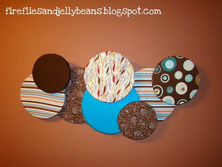 DIY Styrofoam Wall Art | Here is another fabulous project that I made for the DIY club!