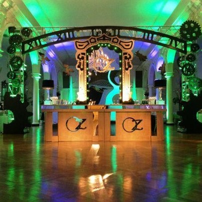 Active Production and Design Special Event Division helps decorators and designs realize their concepts. This Wizard of Oz themed event was made possible by Active trussing structures and LED lighting to support and accentuate the Flawless vision of the Design Team!