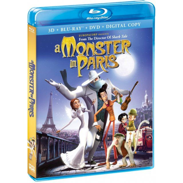 A Monster In Paris 3d Crazy Best Friends Shark Tale Movie Releases