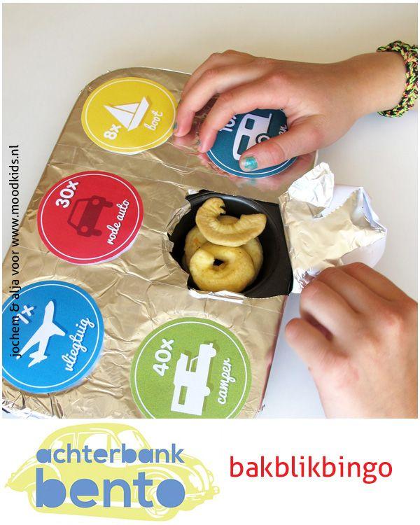 Bento for traveling with kids www.moodkids.com BakblikBingo - Moodkids