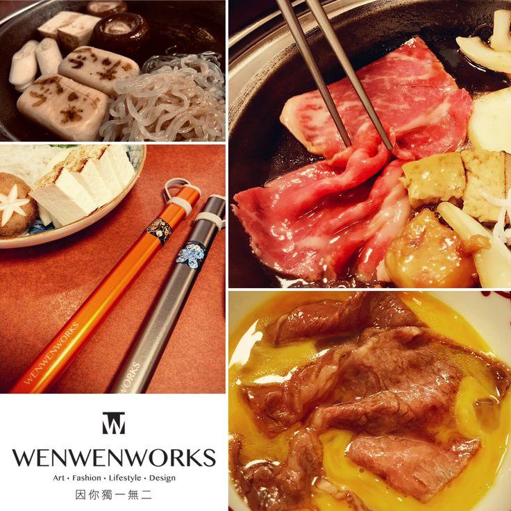 Pin by WENWENWORKS 溫•手作 on WENWENWORKS CUISINE MAP with チタン箸
