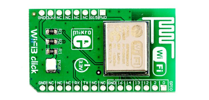 Hacking the WiFi3 click board from MikroElektronika: now it can run NodeMCU software, or you can just program it in Arduino.